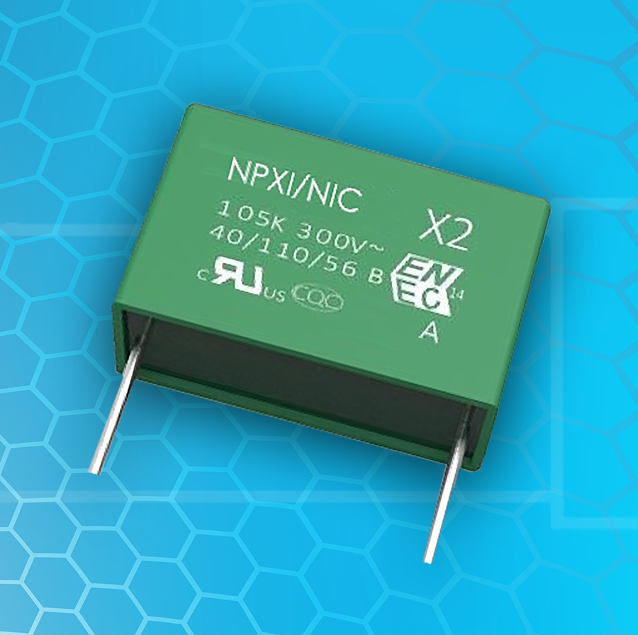Nic Capacitors Capacitor Circuits Electronic Components Corp Has Expanded Its Offering Of Safety Film With Internal Series And Mono Constructions Both Are Upg View More